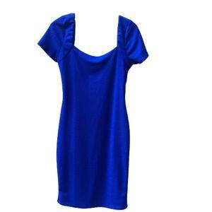 Lulus Blue Dress Sz L